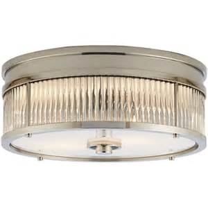low ceiling light fixtures allen low profile flush mount in polished nickel