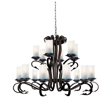 searchlight lighting scroll 18 light wrought iron ceiling