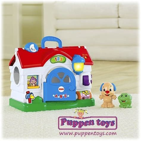 laugh and learn house house talkative laugh learn fisher price juguetes puppen toys