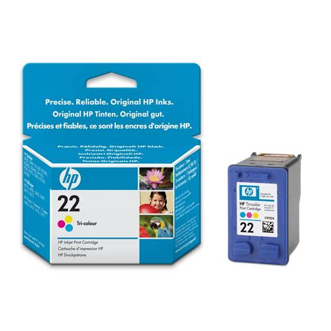 Hp Tinta Cartridge 22 Colour hp ink cartridge c9352ae 22 tri colour staples 174