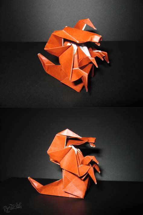 Starcraft Origami - origami hydralisk by richi89 on deviantart