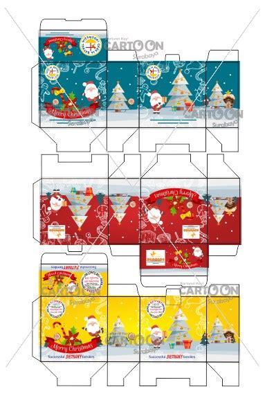 desain kemasan dari kardus contoh hasil desain kardus tema natal tahun baru 2018