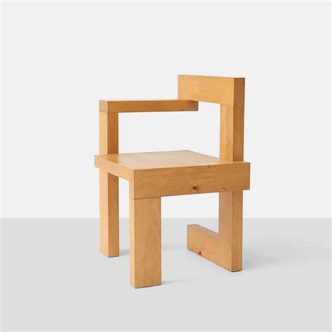 rietveld armchair gerrit rietveld steltman chairs at 1stdibs