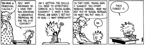 resume for highschool students first job calvin and hobbes cartoons teaching and learning in