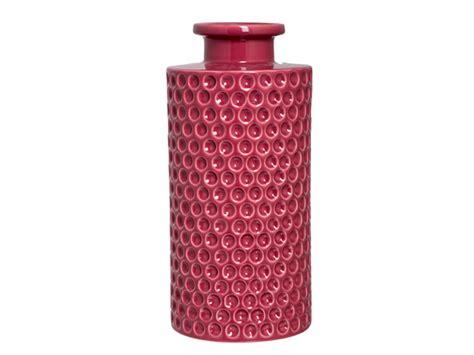 vaso sia vaso in ceramica rosa sia home fashion mod dahlia