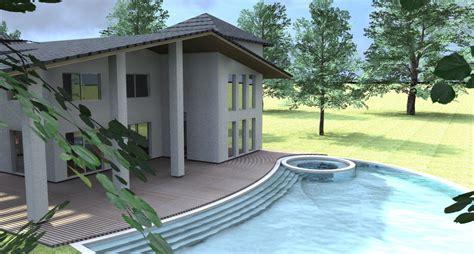Progetto Villa Con Piscina by Esempio Di Progetto Di Villa Con Piscina Sull Adriatico