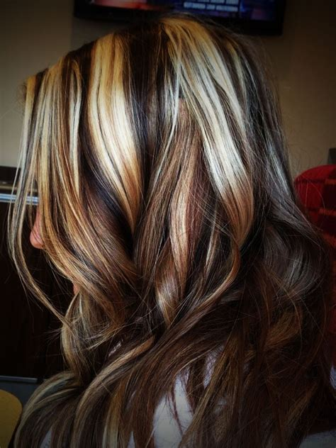 light brown hair with highlights dark brown hair with light blonde highlights brown hairs