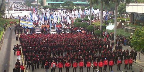 Mei Mei Jkt demo buruh 1 mei di jakarta hindari kawasan ini merdeka