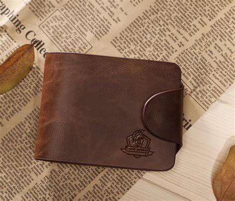 Tas Dompet Penyimpanan Memori Card 1 promosi 2015 fashion pria dompet bifold kulit dompet pemegang kartu kredit id dompet koin