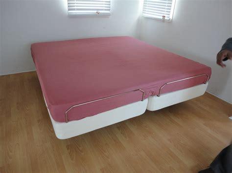 phoenix california king latex mattress adjustable bed
