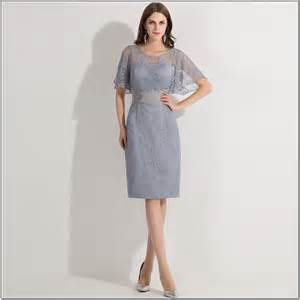 Wedding dresses from mother of the bride dresses lace gray short
