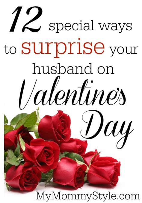 10 Ways To Find A Date For Valentines Day by 12 Special Ways To Your Husband On S
