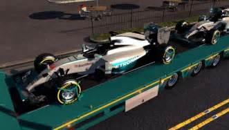 F1 Team Mercedes Amg Petronas Formula One Team Hamilton Rosberg