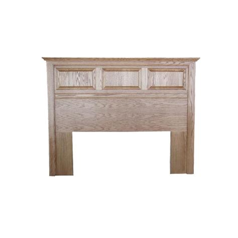 twin oak headboard fd 3006h t traditional oak raised panel headboard full
