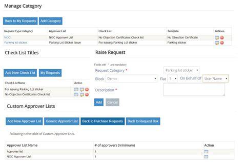 Request Letter For Payment Gateway apartment helpdesk management apnacomplex