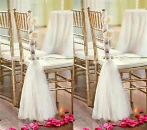 Glamorous meet wedding chair flower decoration ideas