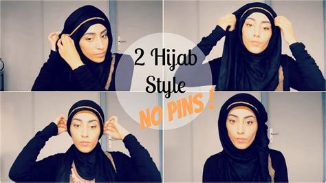 niqab tutorial without pins how to wear hijab without an under scarf hijabiworld