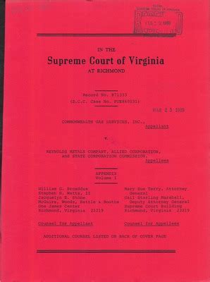 Lynchburg Court Records Virginia Supreme Court Records Volume 236 Virginia Supreme Court Records