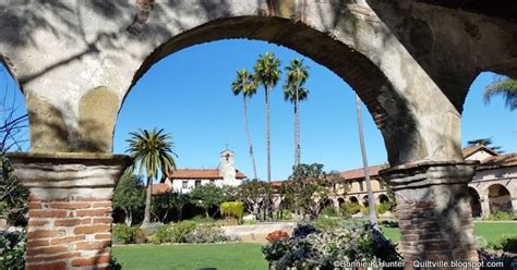 quiltvilles quips snips mission san juan capistrano follow  swallows