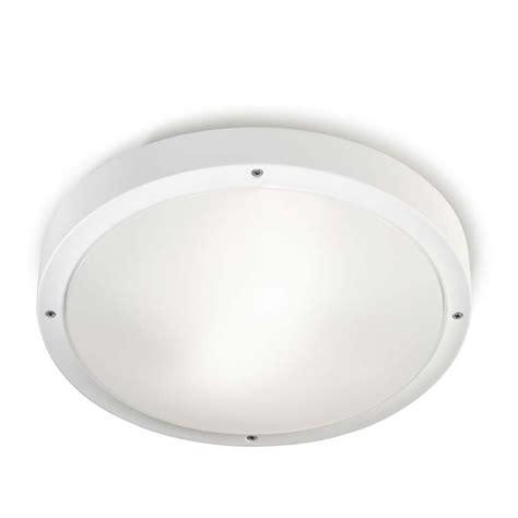 Lu Plafon Downlight leds c4 opal e27 plaf 243 n de techo policarbonato blanco
