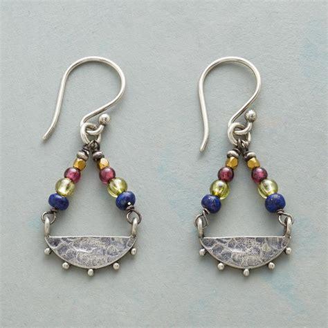 swing earrings swing earrings robert redford s sundance catalog