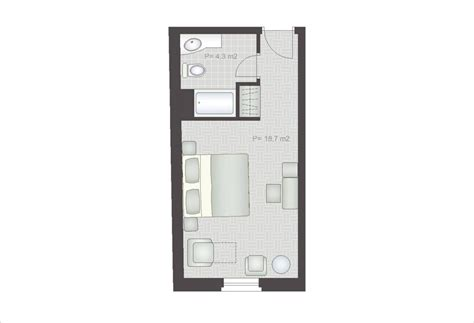 room floor plan baska voda hotels hotel croatia