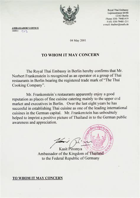 Embassy Letterhead Maothai