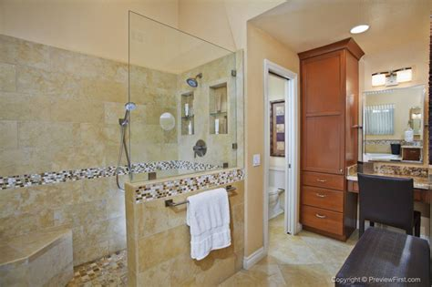 master bathroom walk in shower designs dramatic master bath fireplace remodel university city