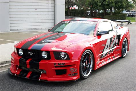 racing news 187 apr s ford mustang widebody kit now