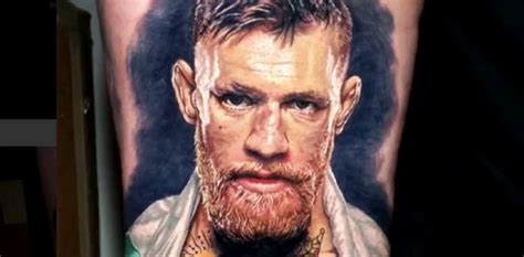tattoo conor mcgregor is this the best conor mcgregor tattoo ever mmaweekly com