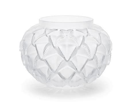 vasi lalique vaso languedoc clear in cristallo lalique serra roma