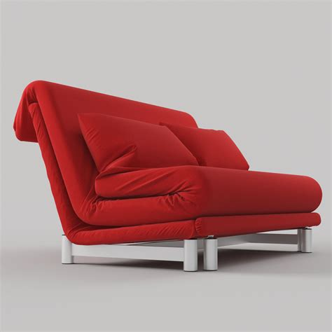 Model Sofa Bed Modern Sofa Bed By Ligne Roset 3d Model Max Obj Fbx Cgtrader
