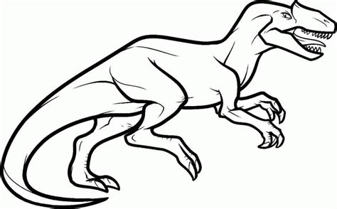 Allosaurus Coloring Pages allosaurus coloring pages coloring home