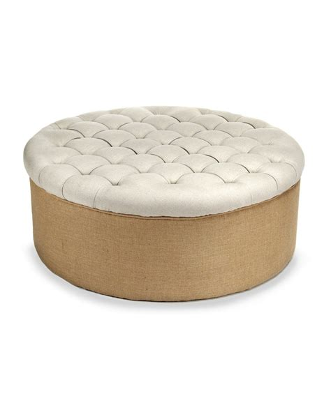 how to make a round tufted ottoman tufted round ottoman liberty interior how to make