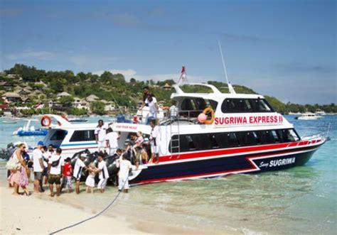 boat murah ke lembongan sugriwa express fast boat paket tour murah nusa penida