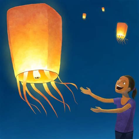 Make A Flying Paper Lantern - 9 best images about navidad 2013 on