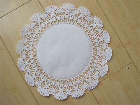 Paper Doilies - 50 10 inch white paper lace doilies paper doily wedding
