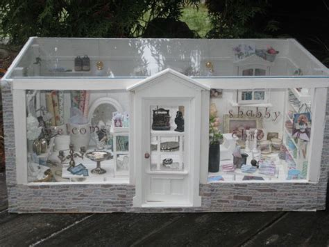 shabby chic shop front shop fronts and displays pinterest