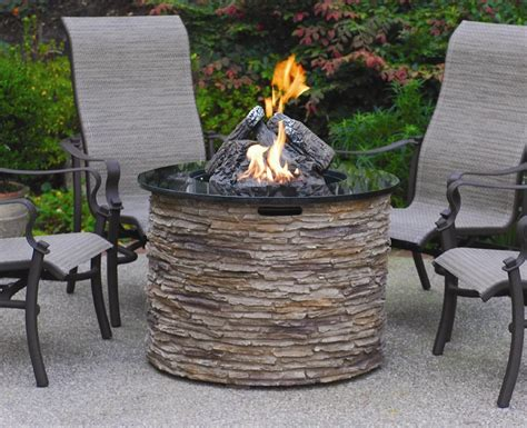 Outdoor Table With Firepit Table Kit Ideas For Outdoor Patio Homesfeed