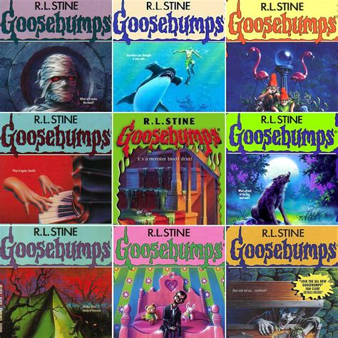 goosebumps books list with pictures how many of the original goosebumps books you read