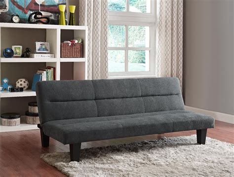 essential home cruz futon essential home charcoal cruz convertible futon shop your