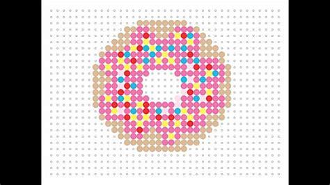 hama food hama bead doughnut food series 4