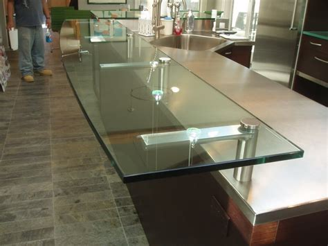 Custom Glass Countertops by Glass Products