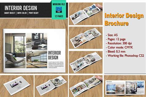 Interior Brochure Design by Brochure Creative Template