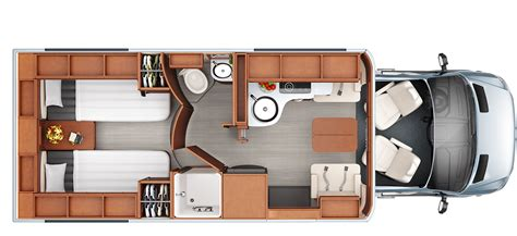unity c layout motorhome vans floorplans autos post