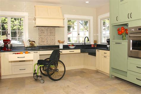 Disabled Kitchen Design 12 Kitchen Remodeling Tips Aging In Place In Geneva Il