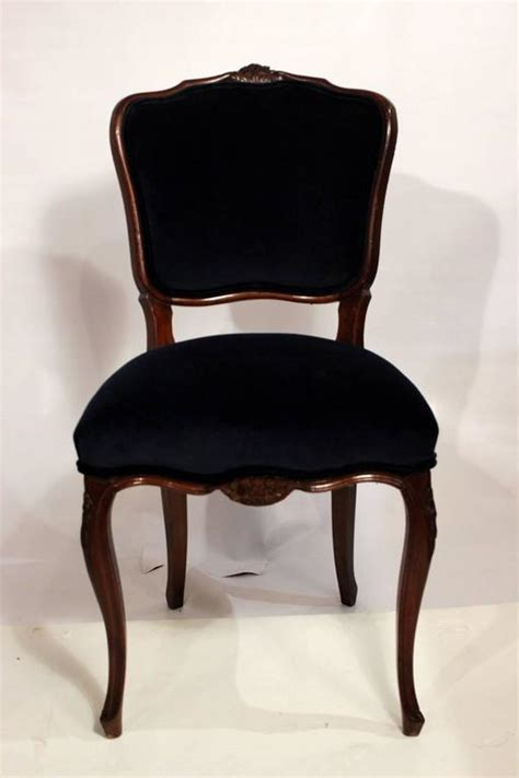 damask dining room chairs six dining room chairs with navy velvet and damask fabric