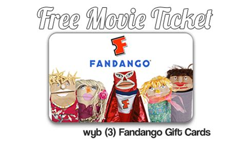 Where Can I Buy Fandango Movie Gift Cards - fandango deal free movie ticket wyb 75 in fandango gift cards southern savers