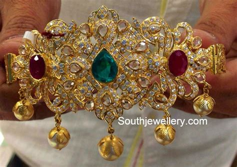 Bajubandh Images 40 grams baju bandh jewellery designs