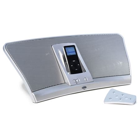 Isoundspa Speaker System For Ipods Is Also A Soothing Sound Station by Igroove Ipod Speaker System Klipsch